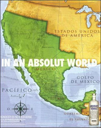 Tags: Absolut Vodka, Time Warner, Reconquista Ad