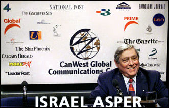 The late Israel Asper, founder of Canwest Global Corp