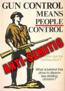 jewish supremacism and gun control