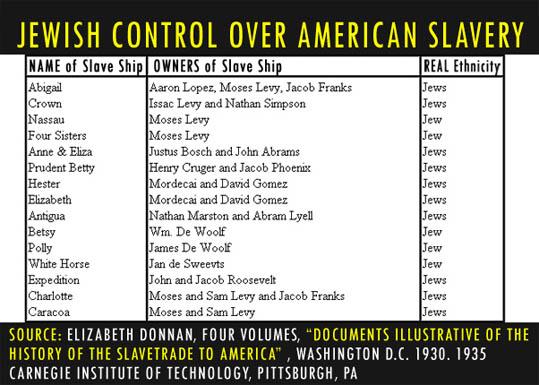 jew slave trade