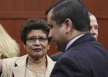 George Zimmerman with his Mother