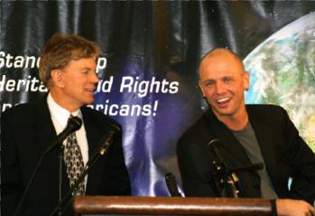 David Duke and James Edwards