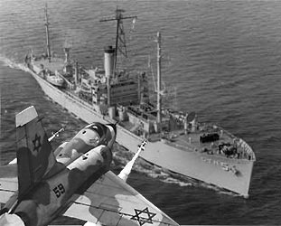 During The Six Day War Israeled And Nearly Sank The Uss Liberty Thirty Four American Servicemen Were Killed And One Hundred And Seventy Two Were