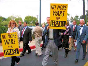 "In spite attempts to stop the  ""NO MORE WARS FOR ISRAEL "" Conference by..."
