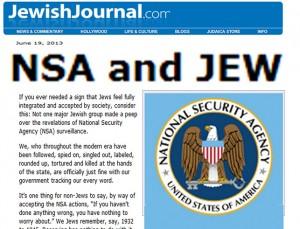 nsa and Jew
