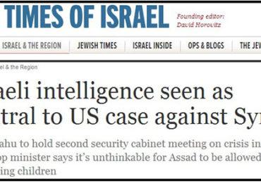 Jewish Press Confirms that Zionist Supremacists are Behind War Propaganda