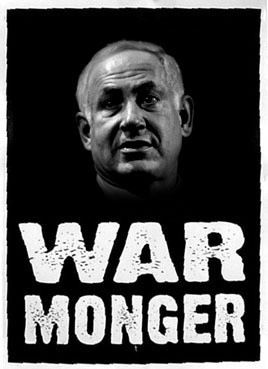 netanyahu-warmonger