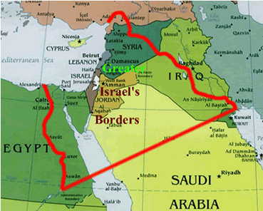 Image result for greater israel borders