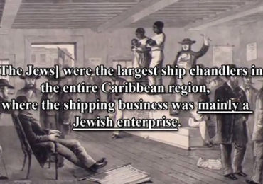 Jewish Role in African Slave Trade Admitted by Rabbi in New Jewish Book