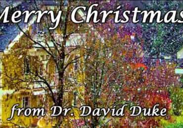 Dr. David Duke Wishes You a White Christmas!
