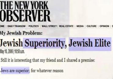 Listen to Dr. David Duke and Adrian Salbuchi Discuss Jewish Supremacist Racist Hypocrisy