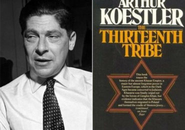 """More on the Khazar Theory"": Koestler Admitted He Wrote His Book to Further Jewish Interests"