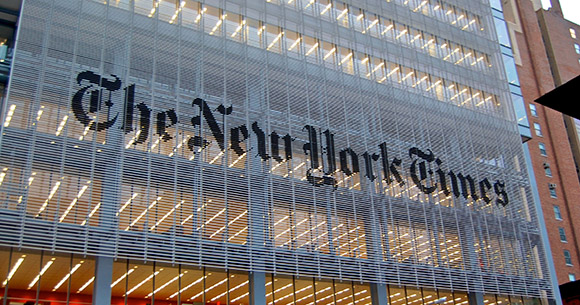 Zionist/Racist NY Times Caught with Pants Down Touting Jewish Racial Superiority!