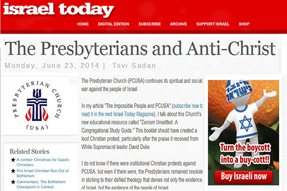presbyterians and anti-christ