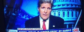 The conflict in Palestine, as seen through the Jewish goggles of John Kerry-Cohen and the Jewish Supremacist-controlled mass media.