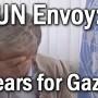 envoy tears for gaza