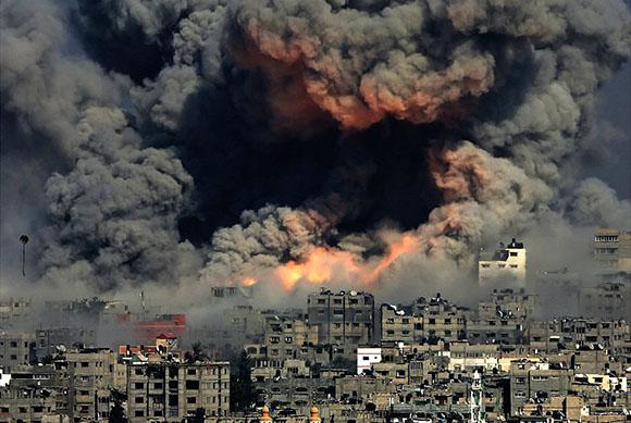 gaza-skyline