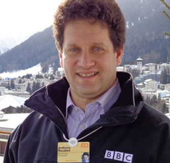 "Anthony Reuben, ""head of statistics"" for the BBC. Assigned to ""make sure"" of the broadcaster's ""facts..."""