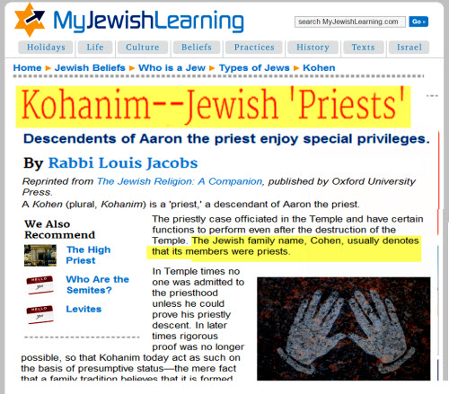 cohen of of Jewish family nameBBC.small jpg