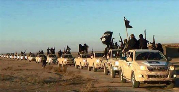 ISIS advances into Iraq--using their bright shiny new Toyota pickup trucks . . . supplied by who?