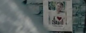 """An anti-assimilation advertisement, paid for by the Israeli government, portraying Jews who don't marry other Jews as """"lost."""""""