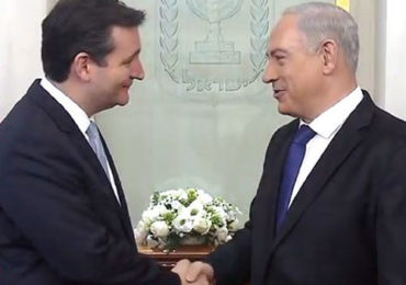 Ted Cruz publicly sides with Jewish Supremacists AGAINST Christians