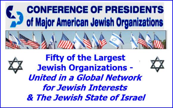 conference of Presidents major jewish organizations web