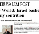 jerusalem post horton lancet crazy
