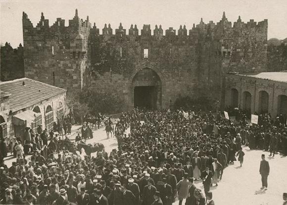 1920 Nebi Musa Riots: Jerusalem Killings: Zionist Terror Comes Home To Roost
