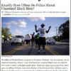 Are Whites or Blacks more Likely to be Shot by Police ? The Shocking Truth!