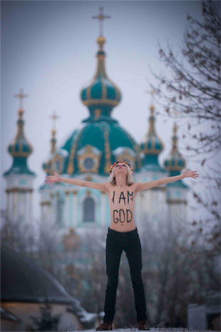 Femen-i-am-god