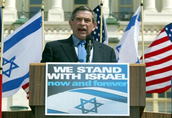 "Paul Wolfowitz, ""American"" Deputy Defense Secretary  under George W. Bush."