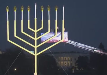 Christian Christmas Symbols Outlawed– Jewish Menorahs Erected — The Jewish Takeover of America!