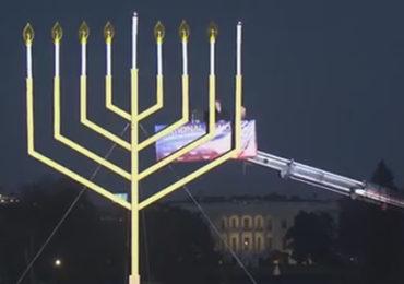 Christian Christmas Symbols Outlawed– Jewish Menorahs Erected — The Jewish Takeover of America!