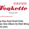 Wonkette website mocks the truth about Zio-media lie regarding Duke critique of Minaj