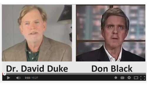 BACK IN BLACK: Dr. Duke talks to Don Black in his triumphant return to the radio airwaves