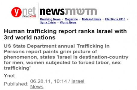 israel sex trafficking
