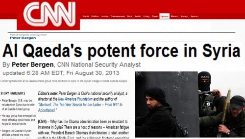 Al Qaeda in syria bergen cnn