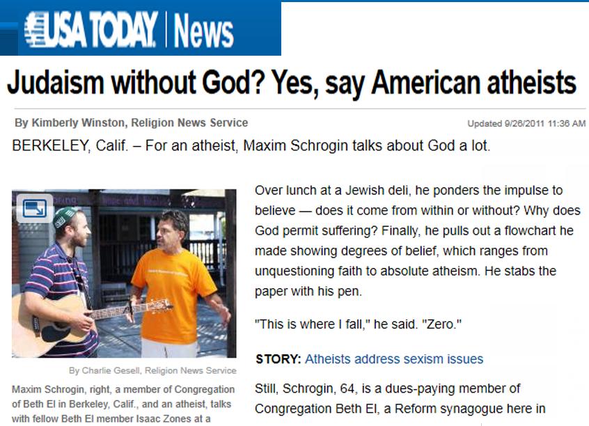 Jewish atheism