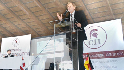 Dr. David Duke gave the opening and closing speech and the International Identitarian Conference in Guadalajara, Mexico.