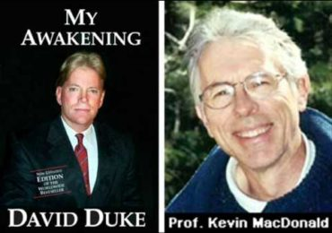 Dr Duke with Renown Prof. Kevin MacDonald on His Books on  the Jewish Tribal Takeover of America!