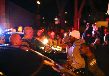 Black Lives Matter Protesters Dindu Nuffin in Minneapolis