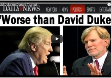 New Dr. Duke Video! — David Duke on Donald Trump!