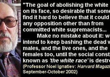 Harvard professor argues for 'abolishing' white race