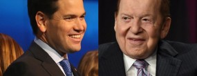 Adelson picks Rubio as his go-to Goy