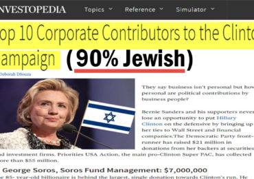 Jewish Money & Media Oligarchs Admit Bosses not Voters Rule America
