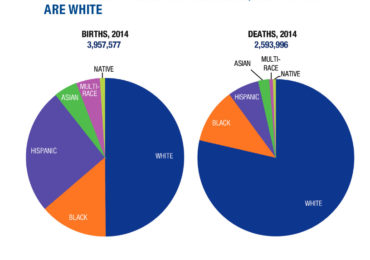Whites dying off while Hispanics flood maternity wards — census data