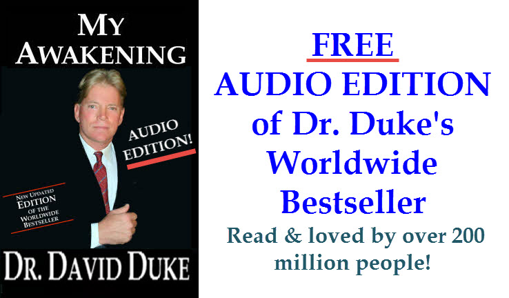 My Awakening by Dr. David Duke — FREE Audio Stream & Download on Mp3!