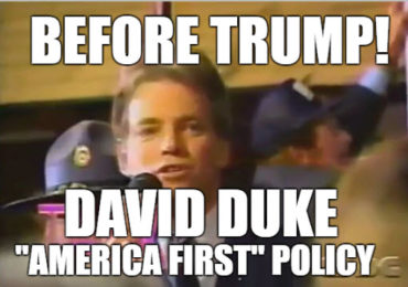 "New Video – Before Trump! – David Duke & "" America First"""