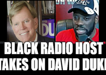 Black TV Host Takes on David Duke with Incredible Interview!